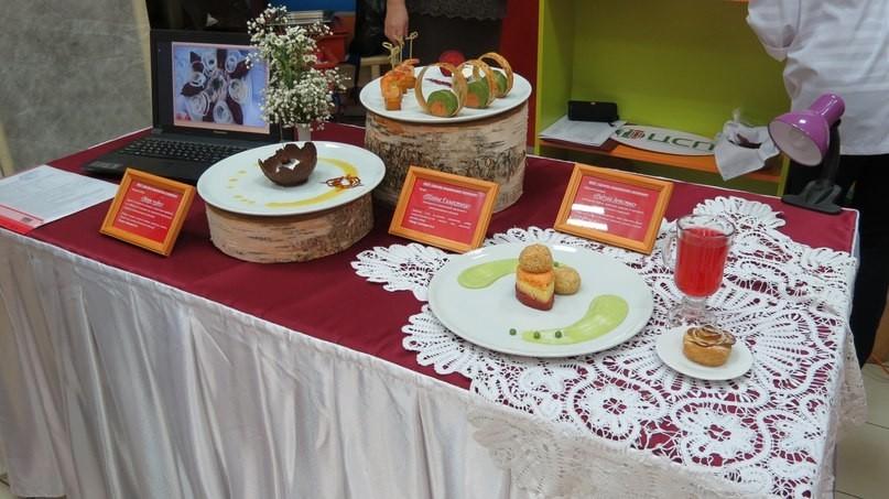 """Выставочный стол """"Школьный завтрак"""""""
