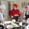 На базе столовой МАУ «ЦСП» проходил конкурс студентов-поваров